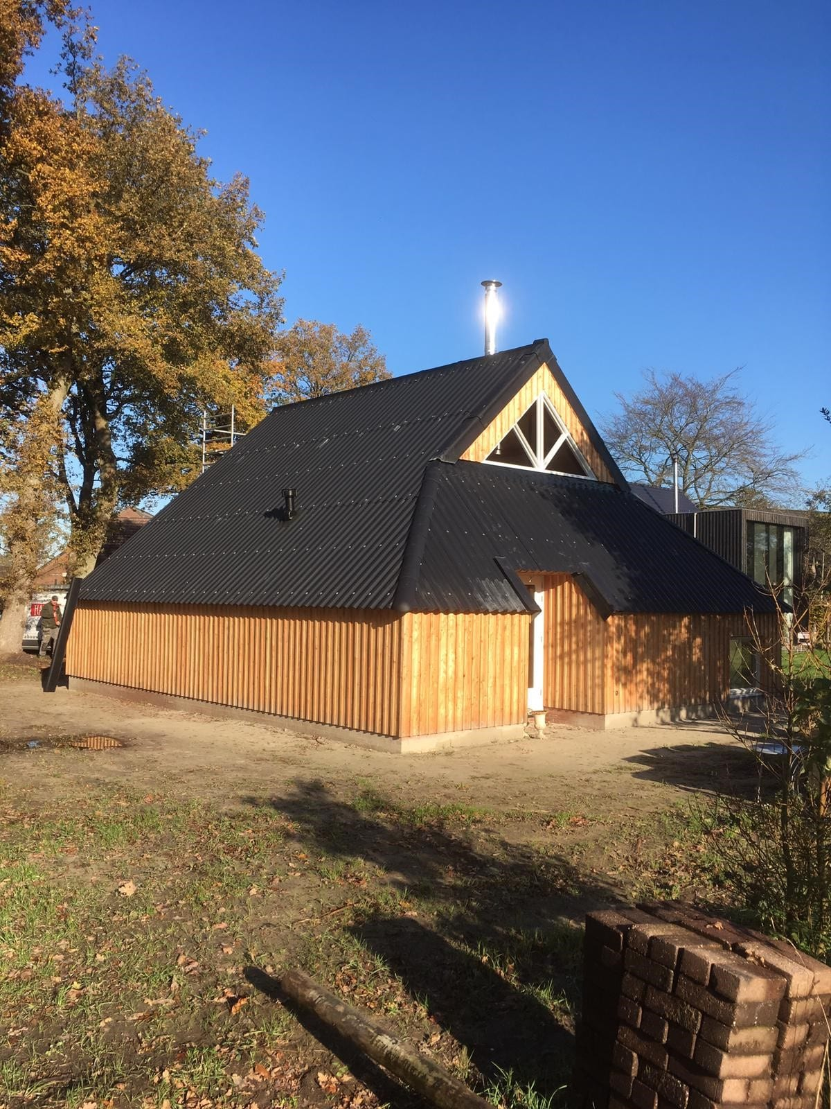 Schuur Yde Architect - Bouw volledig geïsoleerde schuur | Yde
