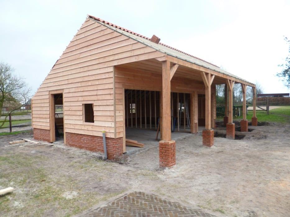 nieuwbouw schuur donderen 117 - Realiseren authentieke schuur | Donderen