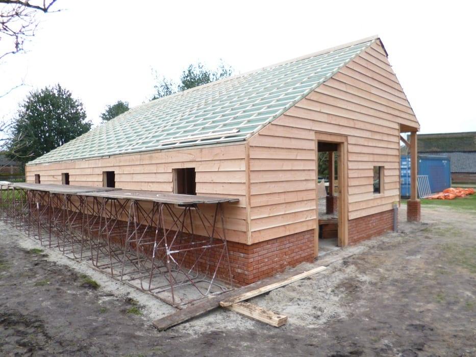 nieuwbouw schuur donderen 118 - Realiseren authentieke schuur | Donderen