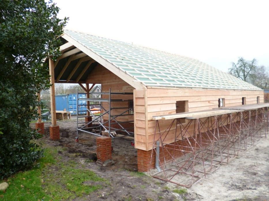 nieuwbouw schuur donderen 119 - Realiseren authentieke schuur | Donderen