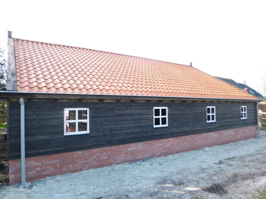 nieuwbouw schuur donderen 120 - Realiseren authentieke schuur | Donderen