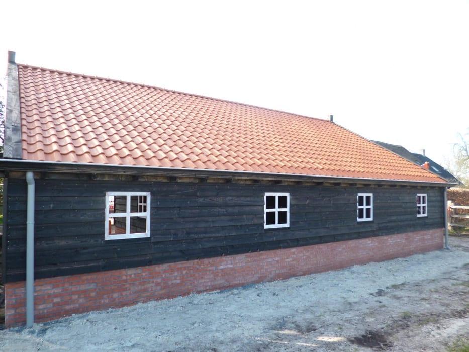 nieuwbouw schuur donderen 121 - Realiseren authentieke schuur | Donderen