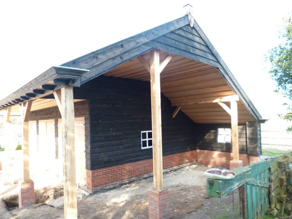 nieuwbouw schuur donderen 122 - Realiseren authentieke schuur | Donderen