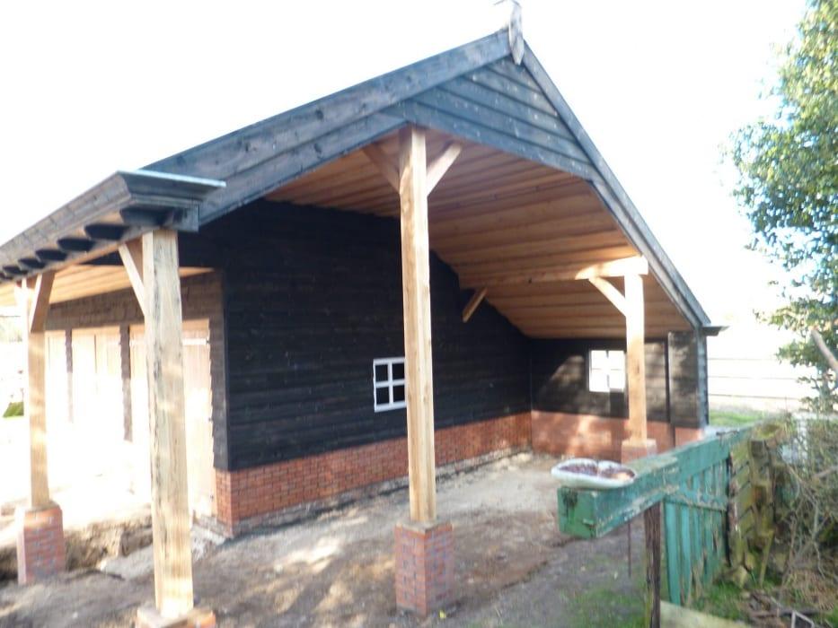 nieuwbouw schuur donderen 123 - Realiseren authentieke schuur | Donderen