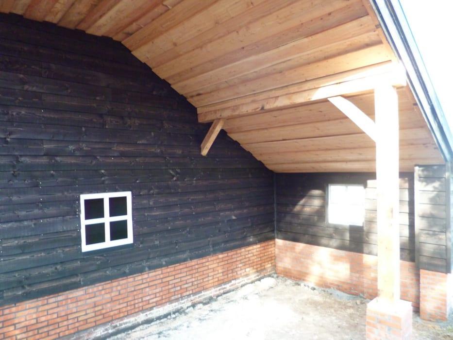 nieuwbouw schuur donderen 124 - Realiseren authentieke schuur | Donderen