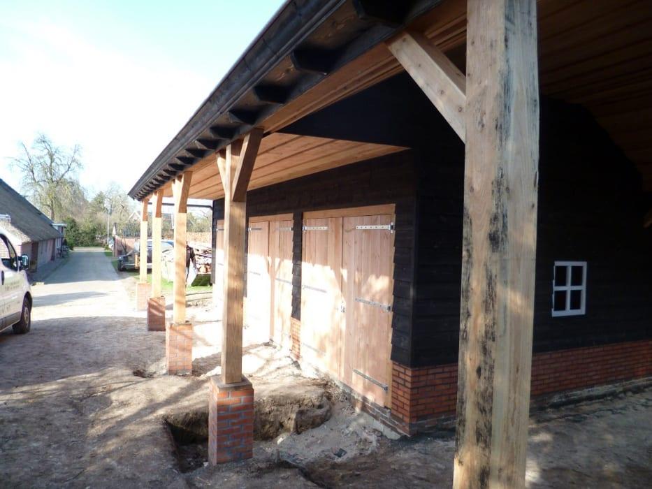 nieuwbouw schuur donderen 125 - Realiseren authentieke schuur | Donderen