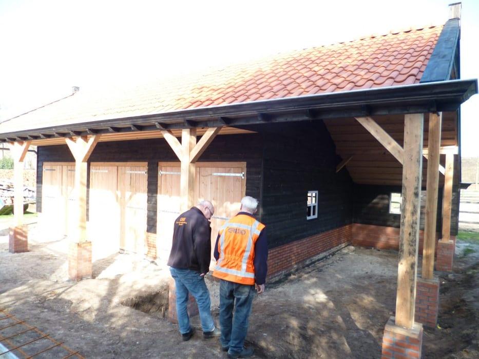 nieuwbouw schuur donderen 127 - Realiseren authentieke schuur | Donderen