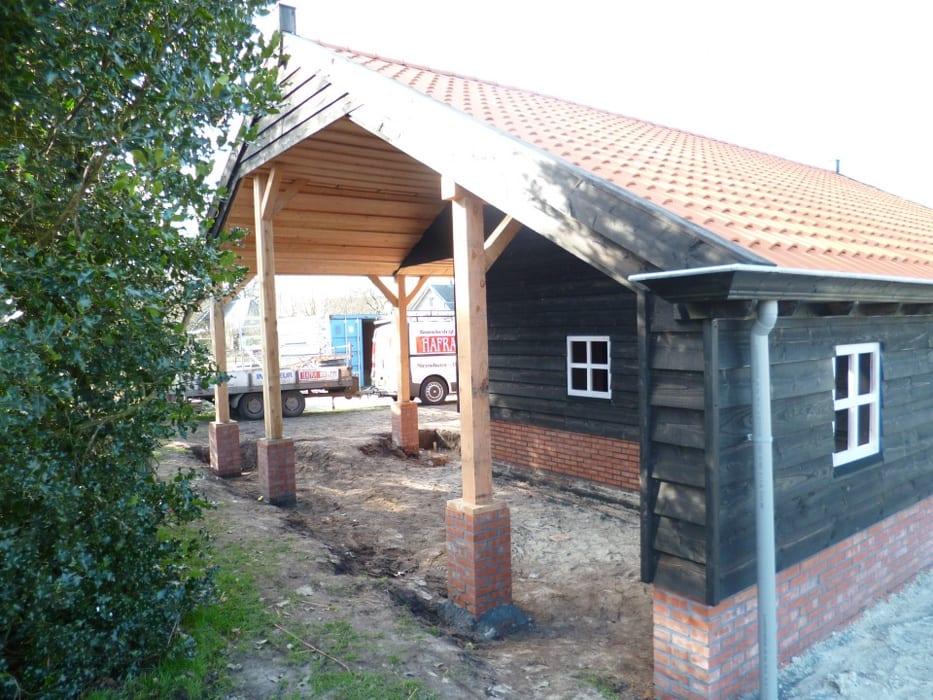 nieuwbouw schuur donderen 128 - Realiseren authentieke schuur | Donderen