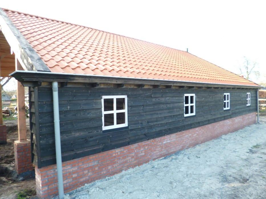 nieuwbouw schuur donderen 129 - Realiseren authentieke schuur | Donderen