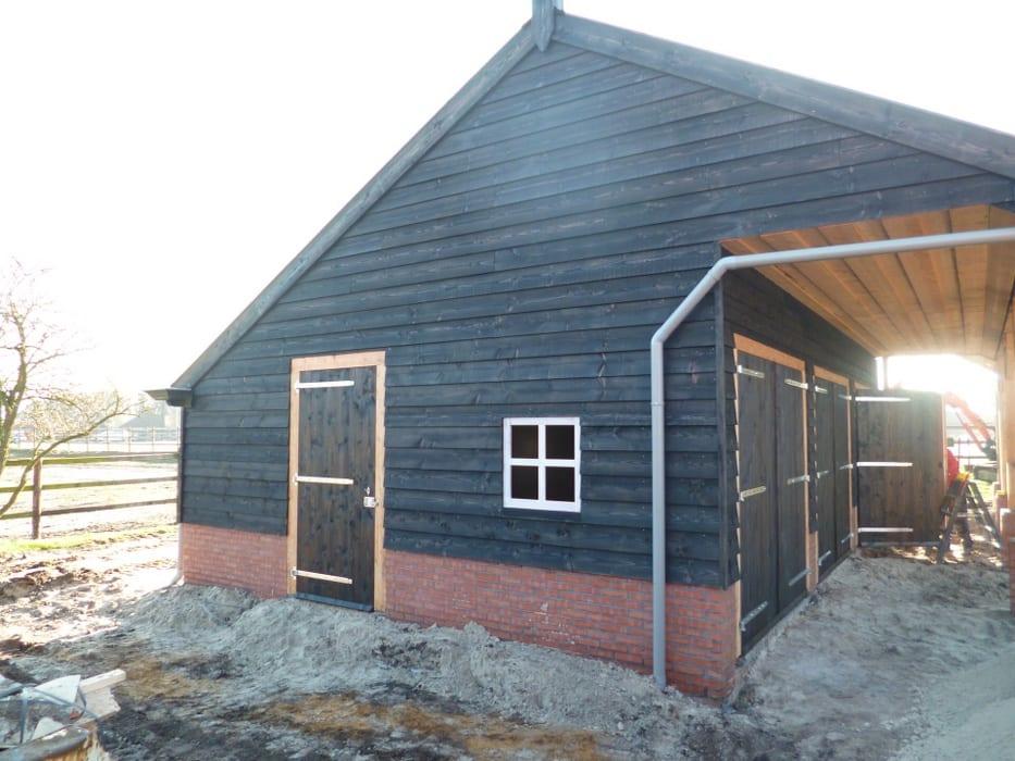 nieuwbouw schuur donderen 130 - Realiseren authentieke schuur | Donderen