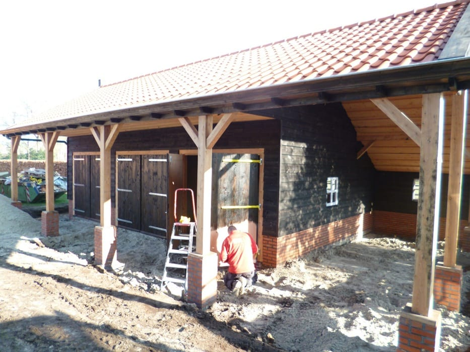 nieuwbouw schuur donderen 131 - Realiseren authentieke schuur | Donderen