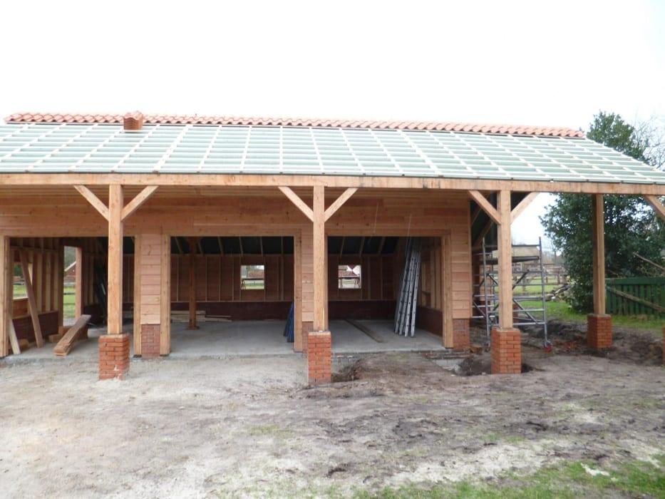 nieuwbouw schuur donderen 135 - Realiseren authentieke schuur | Donderen